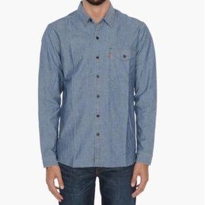 Levi's Reform Blue Skateboarding Button Up Shirt
